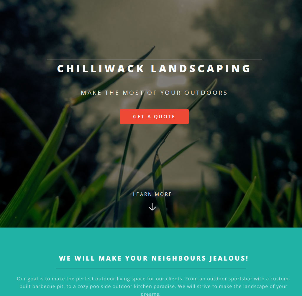Chilliwack Landscaping